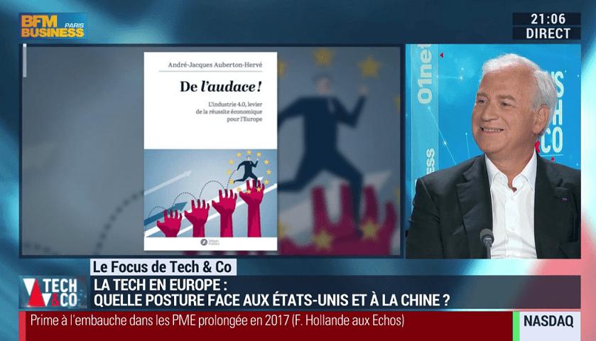 André-Jacques Auberton-Hervé sur BFM TV